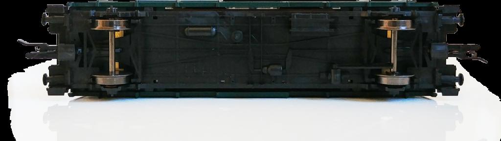 Pohľad na podvozok pre osobák Biz ČSD TT