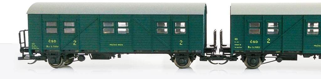 Set osobákov Biz ČSD - TT model
