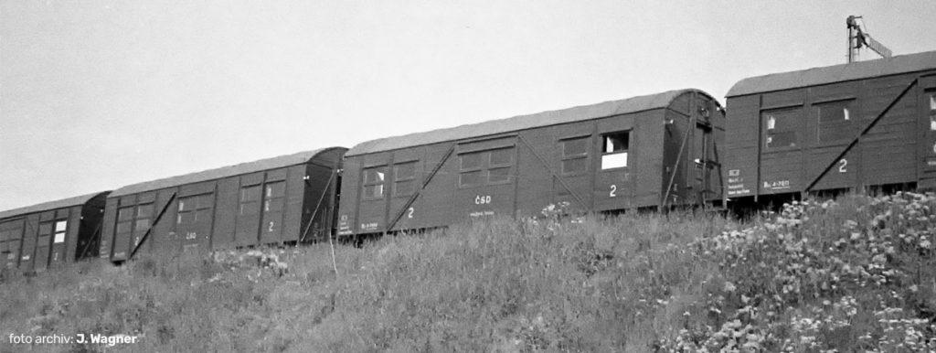 Set osobných vagónov Biz ČSD - TT model z dielne Hädl